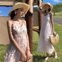 【維拉森林】海邊度假露背長裙S-XL