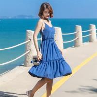 【維拉森林】露背性感海邊度假沙灘裙S-XL