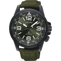 SEIKO精工 Prospex 空軍爭霸機械錶-綠/ 42mm 4R35-02N0G(SRPC33J1)