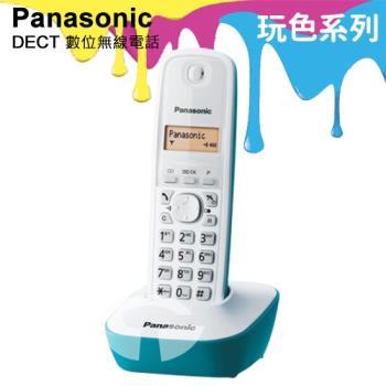 Panasonic 松下國際牌DECT數位無線電話 KX-TG1611 (海灘藍)