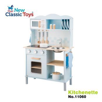 【荷蘭New Classic Toys】聲光小主廚木製廚房玩具(含配件12件) - 11065