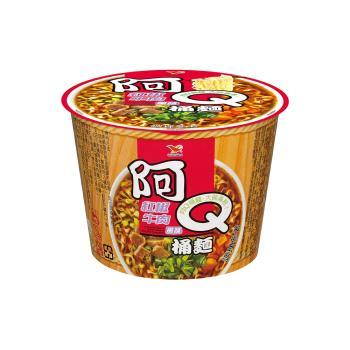 阿Q桶麵 紅椒牛肉風味桶12入/箱