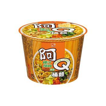阿Q桶麵 雞汁排骨風味桶12入/箱