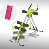5mins Shaper Pro 五分鐘健腹器終極炫風版+EVA中空瑜珈滾筒