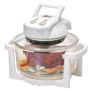 上豪 減油健康不鏽鋼旋風烘烤鍋燒烤機 AX-1102