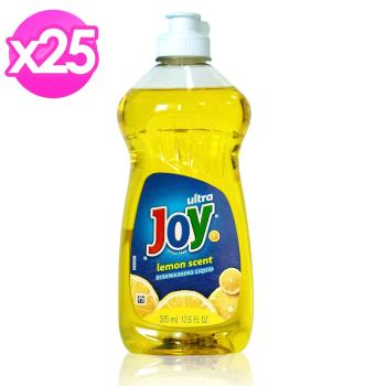 美國 JOY檸檬濃縮洗碗精375mlx25瓶