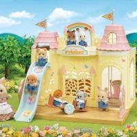 日本 EPOCH森林家族 森林城堡幼稚園禮盒組(含玩偶)EP14186 原廠公司貨