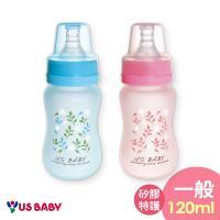 任-【買一送一】優生真母感特護玻璃奶瓶(一般120ml-藍)