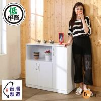 Buyjm 低甲醛防潑水三門電器櫃 廚房櫃 電器架 收納櫃