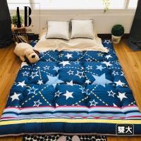 [AndyBedding]MIT純棉超厚實日式床墊(跳耀星空)-雙人加大6尺