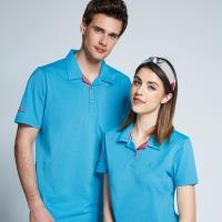 Spar吸濕排汗女版短POLO衫S196213淺藍色