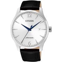 CITIZEN星辰 限量經典機械錶(銀/40mm) NJ0110-18A