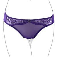 【EASY SHOP】戀上PH5.5 低腰三角褲(深情紫)