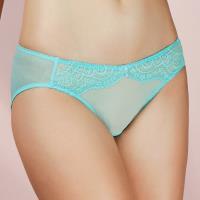 【EASY SHOP】戀上PH5.5 低腰三角褲(薄荷藍)