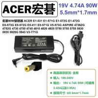 ACER E1-472G E5-573G E5-572G E5-411 變壓器 19V 90W