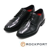 Rockport STYLE PURPOSE系列 雕花牛津紳士皮鞋-黑