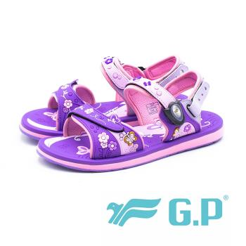 G.P (童)夢幻公主風兩用童涼鞋-紫(另有桃)