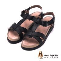 Hush Puppies GERRIT CHRYSTA系列 日常舒適涼鞋 女鞋-黑(另有米)