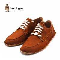 Hush Puppies ARVID ROLL FLEX系列 舒適綁帶休閒鞋 男鞋-棕(另有灰)