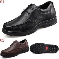 GOG高哥軟面厚底系帶休閒鞋兩色可選WX688110黑/WX688111棕增高6CM口JHS杰恆社1907(預購)