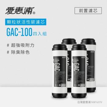 愛惠浦 10英吋前置GAC顆粒狀活性碳濾芯(4支) GAC-100