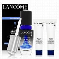 LANCOME蘭蔻 超進化肌因活性安瓶20ml(贈激光煥白精華乳液15mlx2)