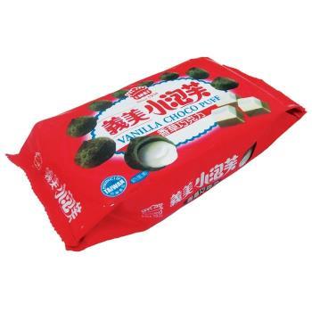 (量販) 義美小泡芙-香草巧克力口味57g*3入組
