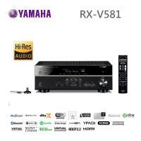 (福利品) YAMAHA RX-V581 環擴擴大機 7.2聲道 內建 Wi-Fi 藍牙相容 USB儲存裝置