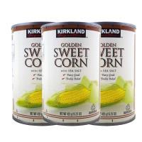 美式賣場 KS科克蘭顆粒玉米罐 3入一組