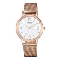 【CITIZEN 星辰】WICCA 廣告款太陽能米蘭腕錶(KP5-166-11)