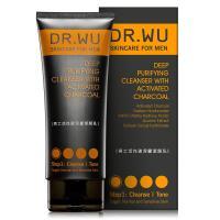 DR.WU 男士活性碳深層潔顏乳150ML