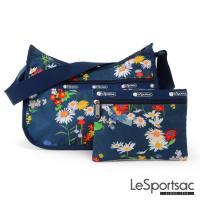 LeSportsac - Standard側背水餃包/流浪包-附化妝包 (小雛菊)