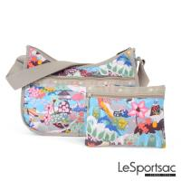 LeSportsac - Standard側背水餃包/流浪包-附化妝包 (派對天堂)