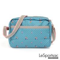 LeSportsac - Standard側背隨身包(火烈鳥/綠)