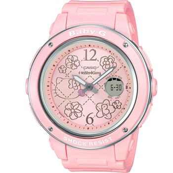 Casio BABY-G x Hello Kitty 運動錶(BGA-150KT-4B)42.8mm