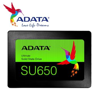 【ADATA威剛】Ultimate SU650 240G (SATA3/三年保) SSD固態硬碟