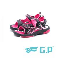 G.P 兒童磁扣式涼鞋 防水止滑 童鞋 - 黑桃 (另有寶藍、綠)