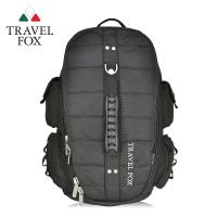 TRAVEL FOX 旅狐 大容量戶外旅行電腦後背包 (TB478-01) 黑色