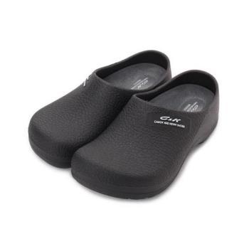 CK PVC包頭廚師鞋 黑 女鞋 鞋全家福