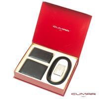 【CUMAR】三件式皮件禮盒-皮夾+名片夾+皮帶-7
