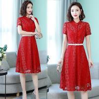 韓國K.W. (預購) 流行穿搭涼感夏日蕾絲洋裝