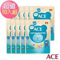 【ACE】比利時進口 字母Q軟糖隨手包 10入(48g/包)