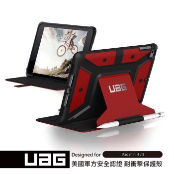 UAG iPad mini (2019)耐衝擊保護殻-紅