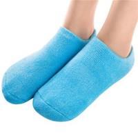 JHS杰恆社凝膠襪SPA植物精油凝膠襪套美白保濕嫩膚襪套美腳船襪abe64 預購