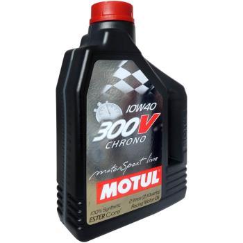 魔特 MOTUL 300V CHRONO 10W-40 雙酯全合成計時競技級機油(2L裝)