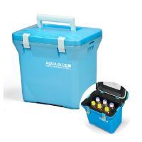 日本原裝 Aqua Blue 7公升保溫保冷箱 PAB100