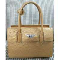 IKON 精品奢華南非鴕鳥皮手提包 -限量珍藏版