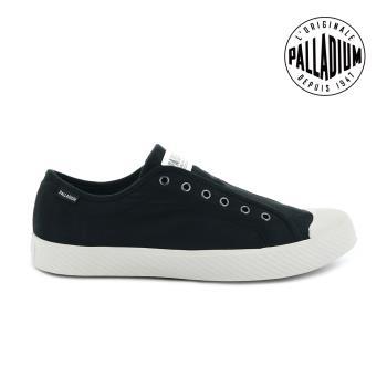PALLADIUM PALLAPHOENIX OG SLIP-ON無鞋帶帆布鞋-女-黑/白