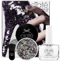 英國Ciaté夏緹 Sequined Manicure Set 亮片指甲油組合-Harlequin 歡樂繽紛