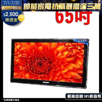 台灣製~65吋-高透光液晶螢幕 電視護目(防撞保護鏡) 飛利浦系列二